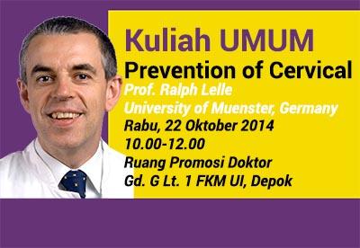 Prevention of Cervical Cancer