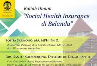 Social Health Insurance di Belanda