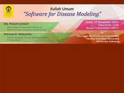 Software for Disease Modeling