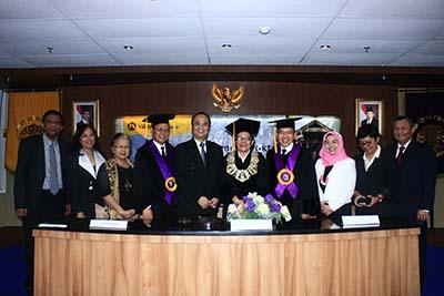 Sidang Promosi Doktor Fakultas Kesehatan Masyarakat Universitas Indonesia