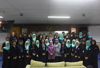 Kunjungan SMA Negeri 2  Kediri