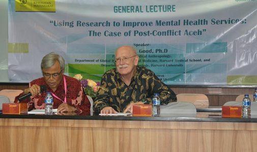 Prof. Byron J. Good, Ph.D dari Harvard University Berikan Kuliah Umum di FKMUI