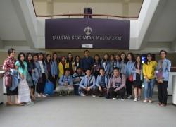 Kunjungan Kembali Mahasiswa FKM Universitas Samratulangi