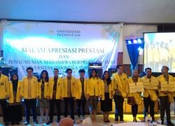 Malam Apresiasi Prestasi Mahasiswa Universitas Indonesia 2016