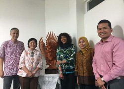 Kunjungan Head of School of The Public Health and Community Medicine UNSW Australia ke FKM UI