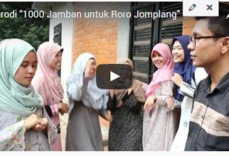 """Parodi """"1000 Jamban untuk Roro Jomplang"""""""