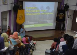 Mahasiswa FKM UI diperkenalkan dengan Destana dan Kampanye Penyelamatan Hutan Indonesia