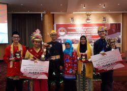 Mapres Utama FKM UI Menyabet Juara 1 Lomba Diskusi Parade Cinta Tanah Air 2017