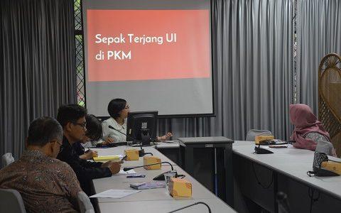 Direktorat Kemahasiswaan UI selenggarakan Sosialisasi Program Kreativitas Mahasiswa (PKM) di FKM UI