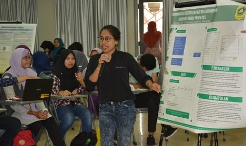 Mahasiswa Ekstensi FKM UI Laksanakan Presentasi Pengalaman Belajar Lapangan (PBL) Tahap I