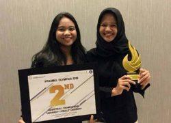 Dua Mahasiswi FKM UI Berhasil Meraih Juara 2 dalam Ajang Prasmul Olympic