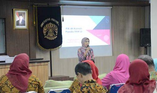 PIK M Rumah Panda FKM UI Jalani Rechecking Lomba Pembangunan Keluarga Provinsi Jawa Barat Tahun 2018