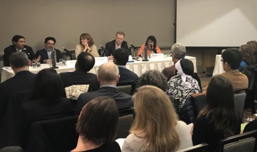 Dekan dan Wakil Dekan FKM UI hadiri konferensi tahunan CUGH 2018