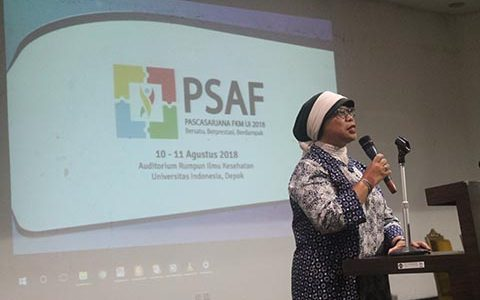 Fakultas Kesehatan Masyarakat Universitas Indonesia Selenggarakan PSAF 2018 bagi Mahasiswa Pascasarjana