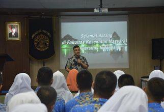 Kenalkan Kehidupan Kampus Kepada Siswa, SMA Negeri 2 Sumatera Barat Kunjungi FKM UI