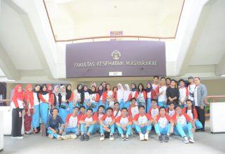 Siswa-siswi SMA Global Islamic School Jakarta Tambah Wawasan Dunia Perkuliahan dengan Kunjungi FKM UI