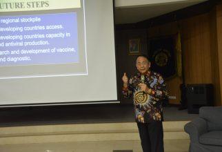 """ASEAN Foundation Executive Director Sampaikan Kuliah Umum """"Indonesia dan Global Health"""" di FKM UI"""