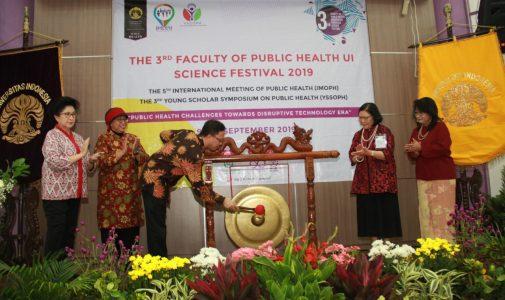 Menteri Kesehatan dan Menteri Keuangan RI Hadir Sebagai Keynote Speaker  pada The 3rd FPH UI SciFes