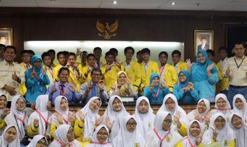 Minati Program Studi K3, SMA Muhammadiyah 10 GKB Gresik Laksanakan Studi Kunjungan ke FKM UI
