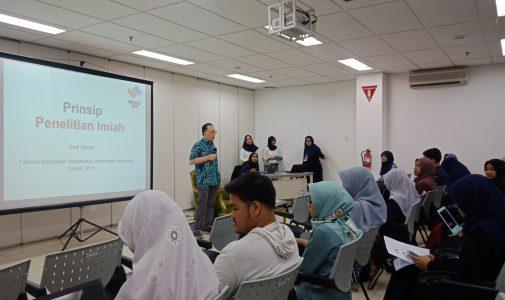 Mahasiswa Himpunan Epidemiologi dan Biostatistika FKM UI Selenggarakan Workshop: Methods in Research and Data Analysis Class of Public Health