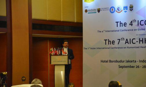 Dekan FKM UI Sampaikan Peran Kesehatan Masyarakat dalam Global Health pada The 4th ICGH