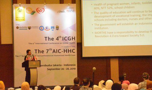 Peran FKM UI sebagai Representatif Kesehatan Masyarakat dalam Pembangunan Global Health pada The 4th International Conference of Global Health