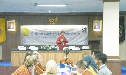 FKM UI Menjadi Tuan Rumah Public Health Study Tour Mahasiswa Australia