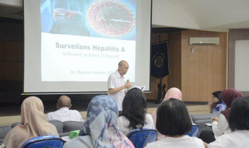 Merespon KLB Hepatitis A di Depok, FKM UI Selenggarakan Pelatihan Surveilans dan Investigasi Wabah Hepatitis A