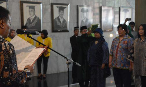Pelantikan Dekan FKM UI sebagai Sekretaris Universitas Indonesia Periode 2019-2024