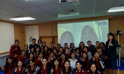 Dosen FKM UI Memberikan Kuliah Daring untuk Suranaree University of Technology, Thailand