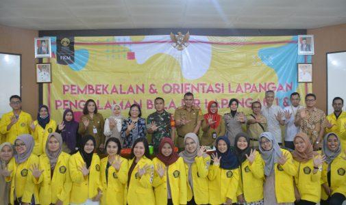 Pelepasan Kegiatan PBL Mahasiswa FKM UI di Kecamatan Babakan Madang, Bogor