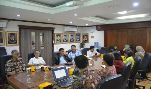 FKM UI Adakan Pertemuan dengan Wakil Rektor UI Diskusikan Pemanfaatan Riset dan Pengembangan Inovasi