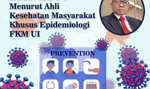 Kenali 2019-nCoV Lewat Perspektif Kesehatan Masyarakat