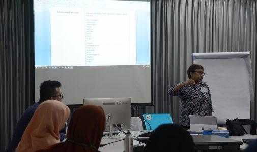 Departemen PKIP FKM UI Menghadirkan Pembicara dari UNSW dalam Workshop Qualitative Systematic Review