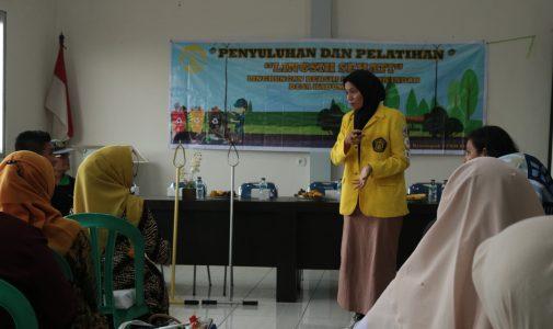 Mahasiswa Ekstensi FKM UI Laksanakan Penyuluhan dan Pelatihan Lingkungan Bersih di Babakan Madang