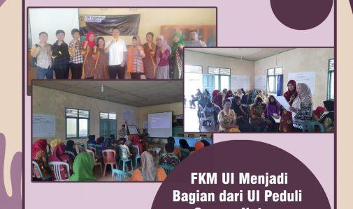 Peduli terhadap masyarakat Natuna, FKM UI melalui kegiatan Universitas Indonesia Peduli (UI PEDULI Corona Natuna) turun ke kabupaten Natuna