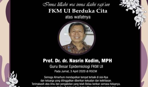 Berita Duka Cita Prof.Dr. dr. Nasrin Kodim, MPH
