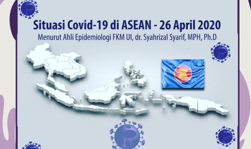 Situasi Covid-19 di ASEAN-26 April 2020