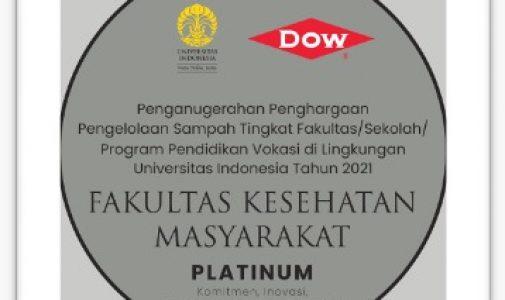 FKM UI Raih Platinum Champion Plawas 2021