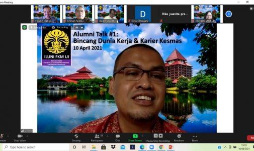 Alumni Talk #1: Bincang Dunia Kerja dan Karir Kesehatan Masyarakat
