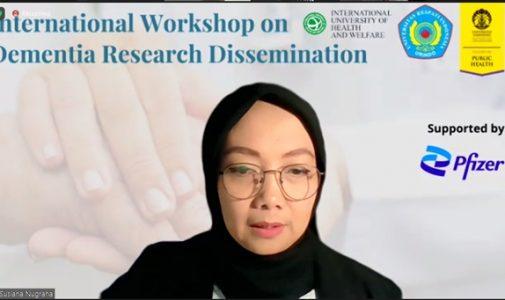 FKM UI Gelar Workshop Diseminasi Hasil Penelitian Dementia Awareness