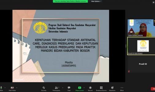 Doktor FKM UI Teliti: Kepatuhan Terhadap Standar Antenatal Care, Diagnosis Preeklamsi Pada Praktik Mandiri Bidan di Kabupaten Bogor
