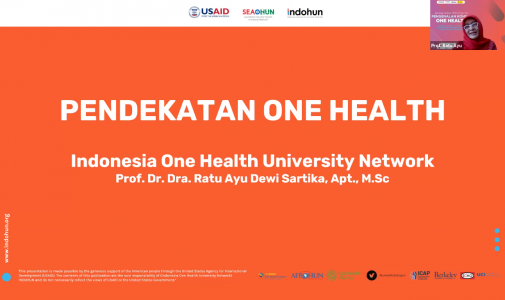 Seminar Online FKM UI Seri 33: Pengenalan Konsep One Health