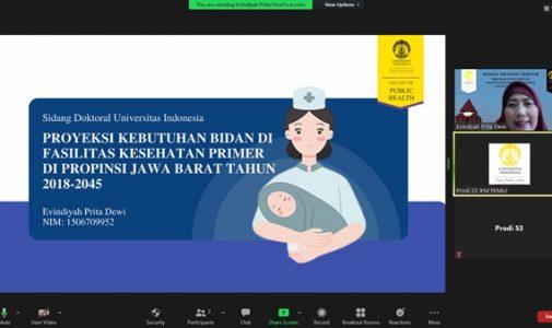 """Doktor FKM UI Teliti: """"Proyeksi Kebutuhan Bidan di Fasilitas Kesehatan Primer di Propinsi Jawa Barat Tahun 2018-2045"""""""