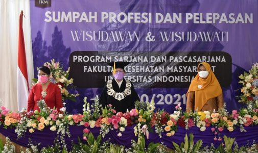 FKM UI Gelar Pelepasan dan Wisuda Virtual Program Pascasarjana Semester Genap TA 2020/2021